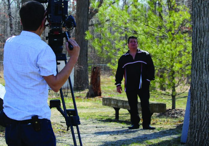 Chief Laforme films a welcome message for the 2017 Invictus Games.