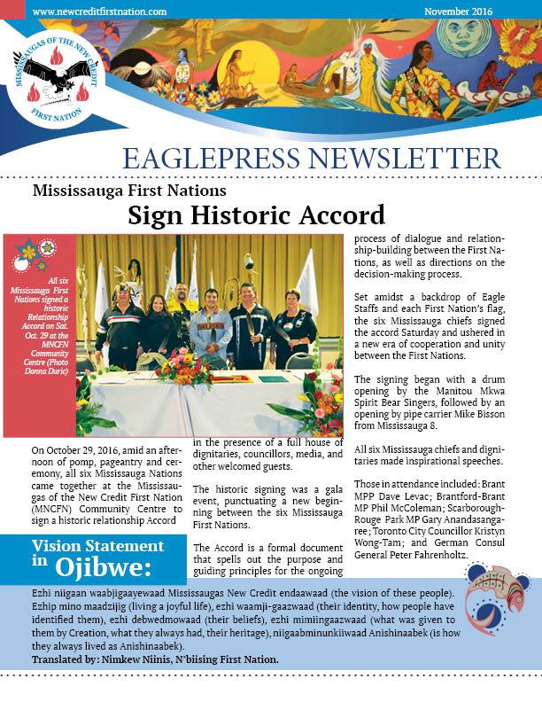 Nov 2016 MNCFN Eaglepresss