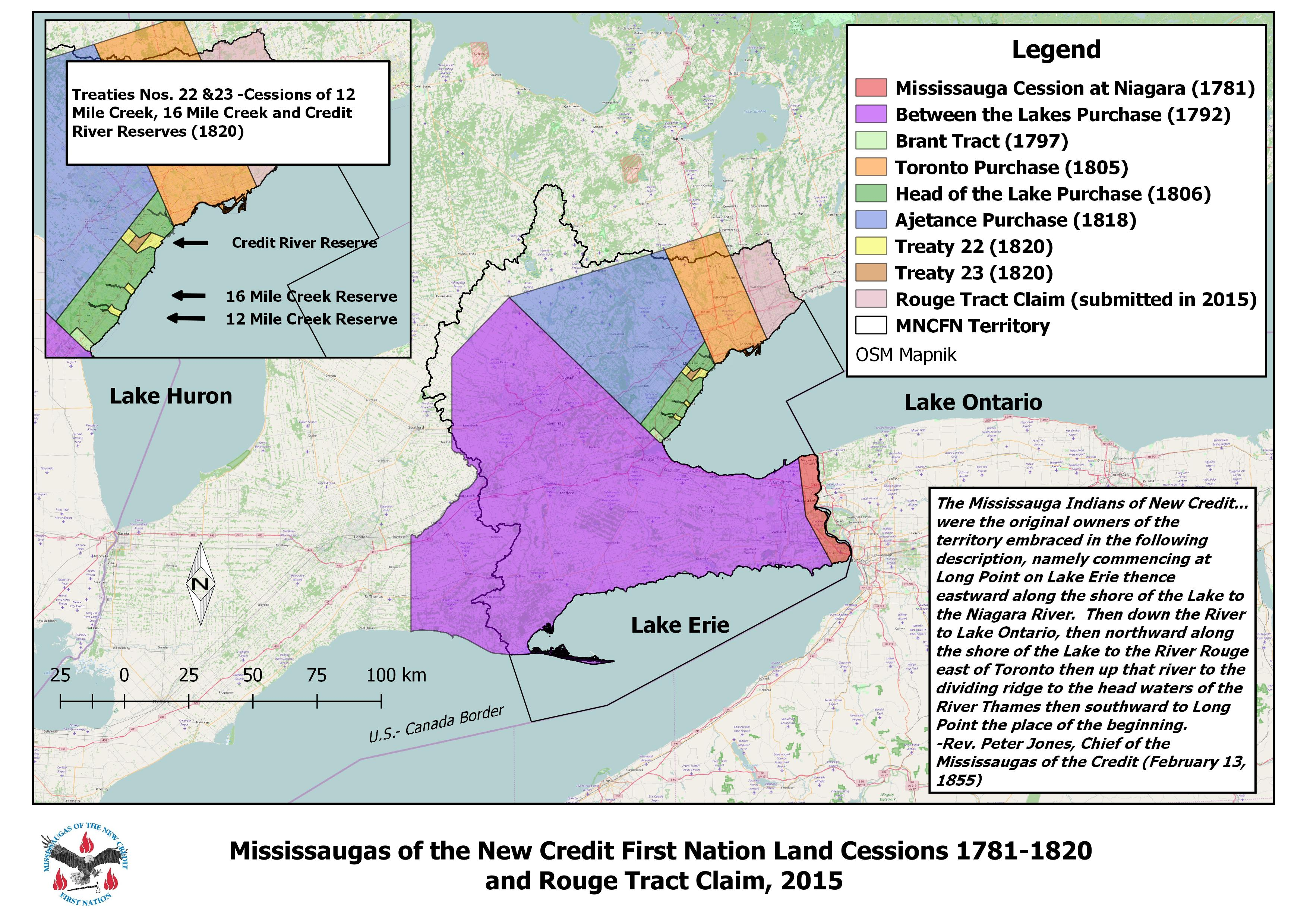 Treaty Lands & Territory – Mississaugas of the Credit First