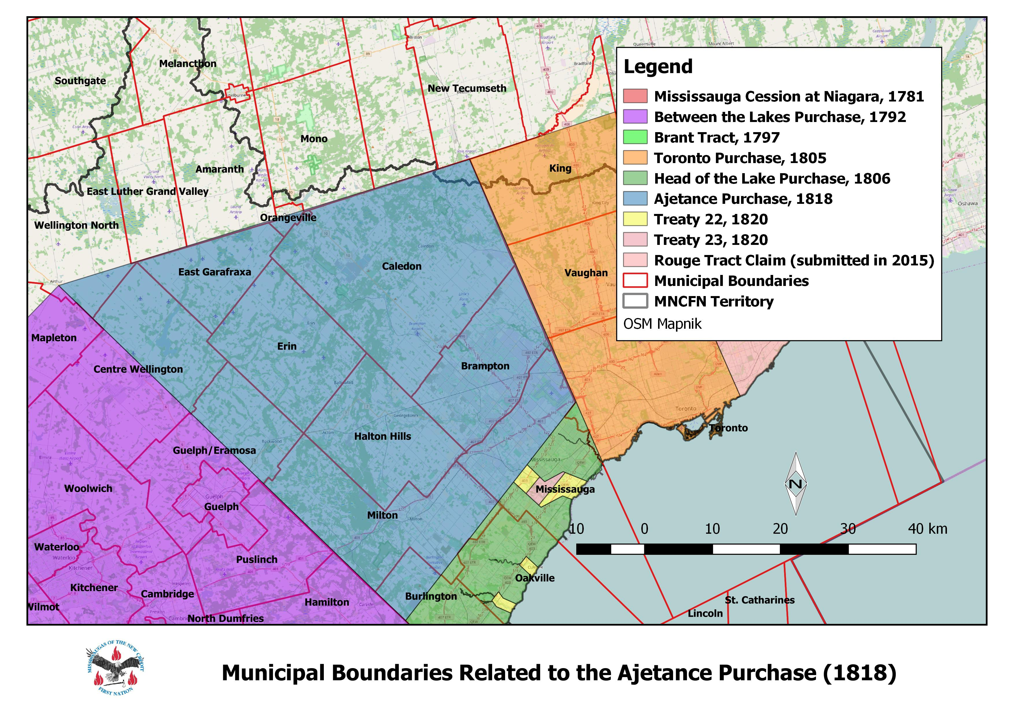Ajetance Purchase Treaty 19 Mississaugas Of The New