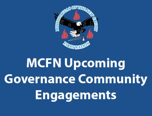 Upcoming MCFN Governance Community Engagements