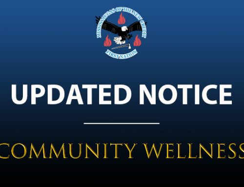 Notice – Update to Community Wellness