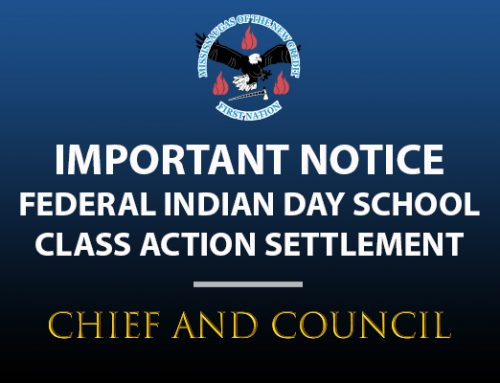 NOTICE – Federal Indian Day School Class Action Settlement