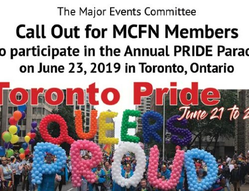 MCFN Major Events Committee Call Out for MCFN Members to Participate – PRIDE