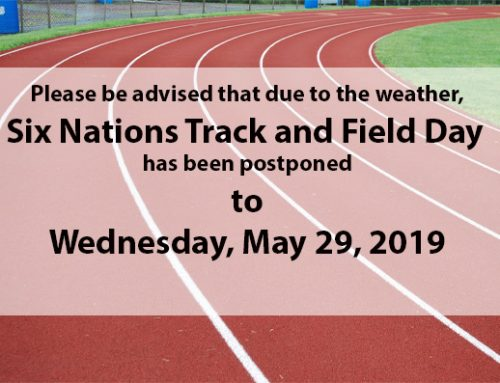 Six Nations Track and Field Postponed
