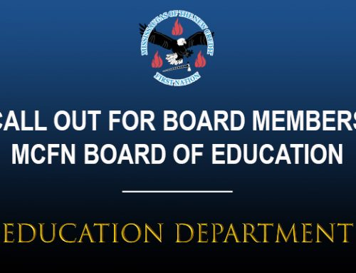 MCFN Education Board Seeking Board Members