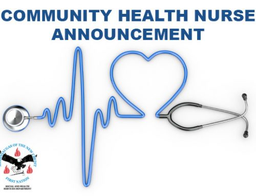 Community Health Nurse Announcement