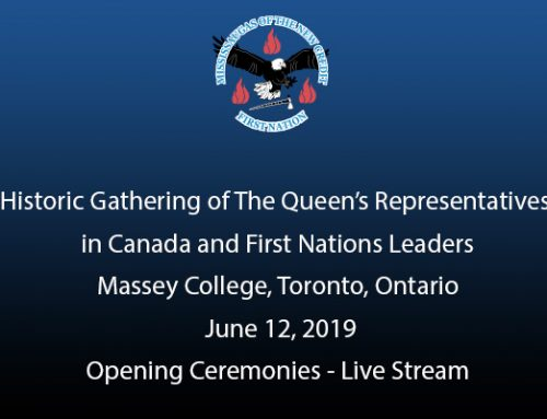 Gathering of the Queen's Representatives in Canada and First Nation Leaders Opening Ceremonies