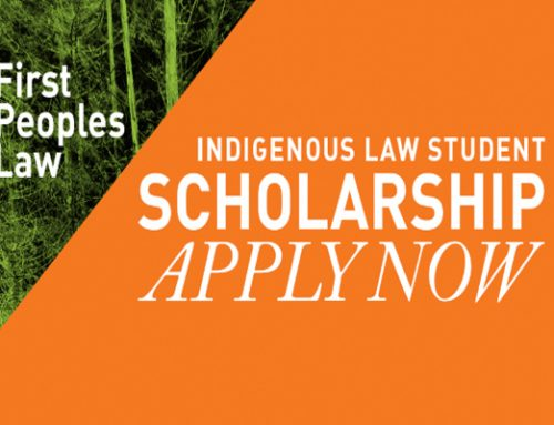 Indigenous Law Student Scholarship