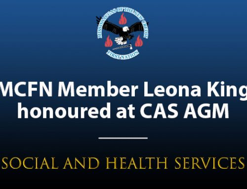 Leona King Honoured for 20 Years of Service as Foster Parent