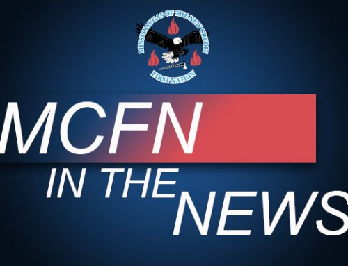 MCFN in the news (Hamilton) Flag Raising – Pat Mandy