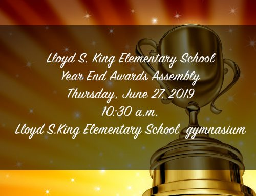 LSK School Year End Awards