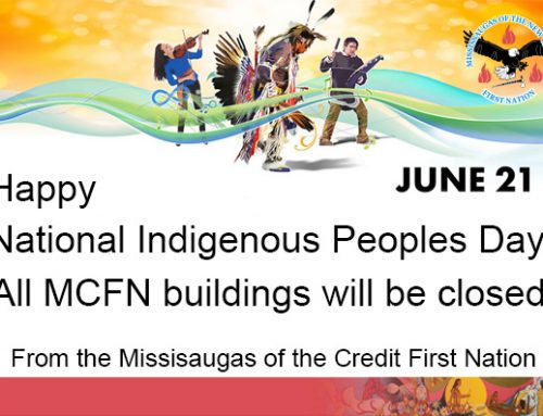 MCFN Offices Will be Closed on Friday, June 21 for National Indigenous People's Day