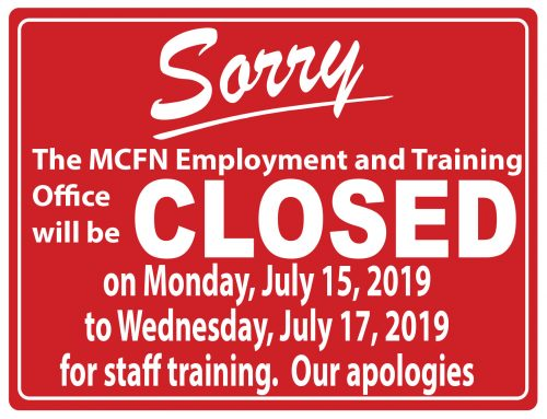 Notice of Office Closure