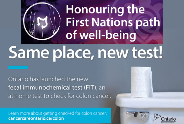 Fecal Immunochemical Test Fit New At Home Test To Check For Colon Cancer Mississaugas Of The Credit First Nation