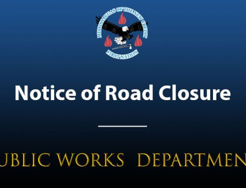 Notice of Road Closure