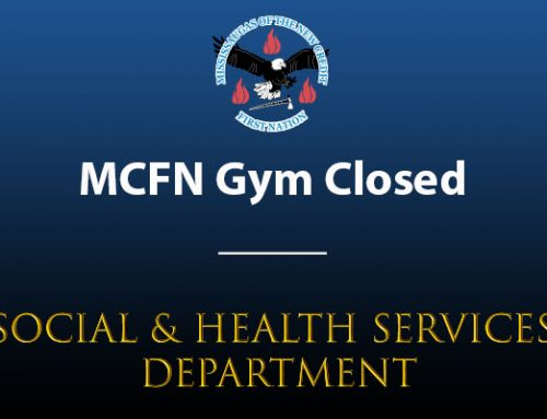 Notice of MCFN Gym Closure