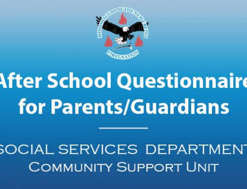 After school Questionnaire for Parents/Guardians