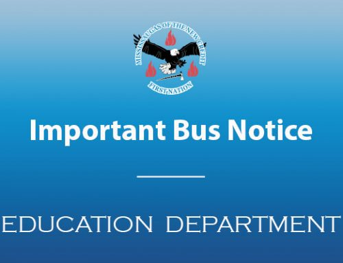 Important School Bus Pick Up Notice