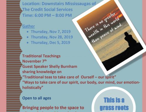 Taking Care of Our Spirit Grassroots Mental Health Group