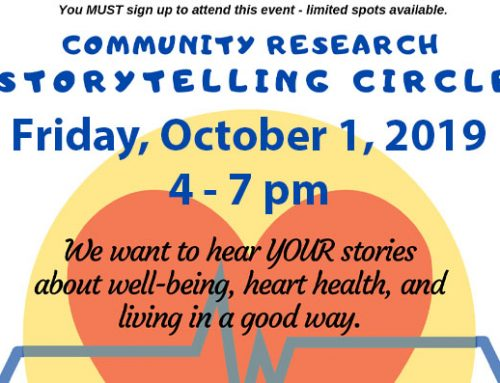 Community Research Storytelling Circle