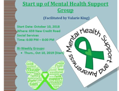 Start up of Mental Health Support Group