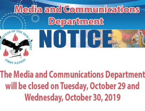 Notice of Media and Communications Office Closure