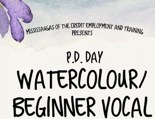 P.D. Day Watercolour/Beginner Vocal Workshop