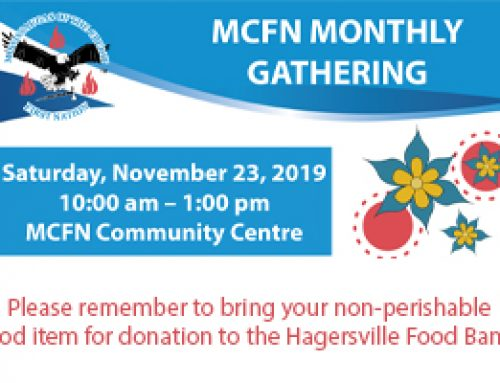MCFN Monthly Gathering Agenda