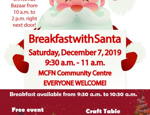 Breakfast With Santa Dec. 7, 2019!