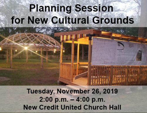Planning Session for New Cultural Grounds
