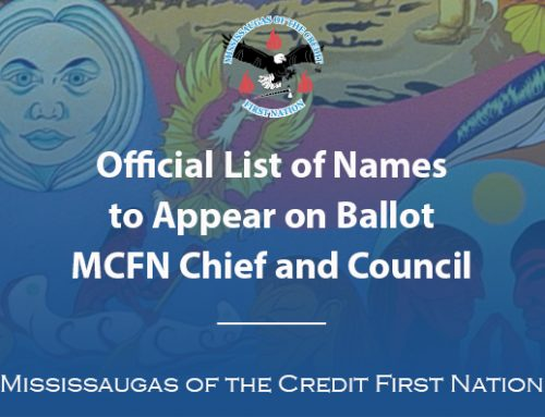 Official Nomination List of the 2019 MCFN Election