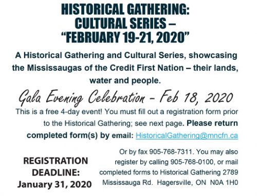 Registration Now Open for the 2020 Historical Gathering