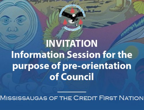 Information Session – pre-orientation of Council