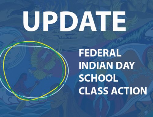 UPDATE DEC. 11, 2019 – Federal Indian Day School Class Action