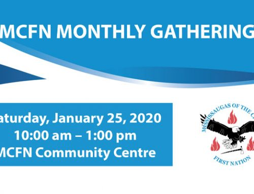 Agenda – January 2020 Monthly Gathering