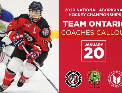 Team Ontario Coaches Callout