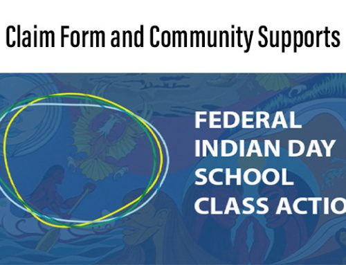 Indian Day School Claim Form & Community Supports