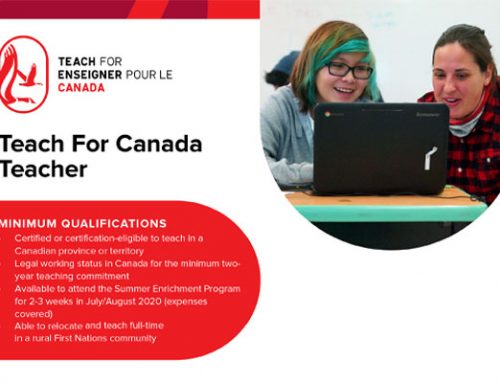 Teach for Canada Teaching Opportunity