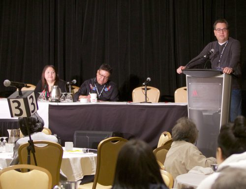 Councillor Evan Sault Provides Welcome at Chiefs of Ontario Health Forum