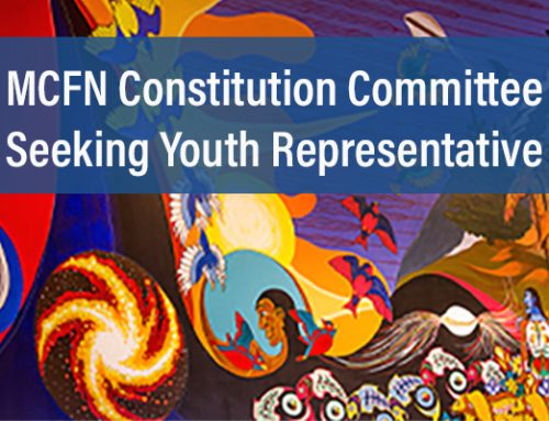 MCFN Constitution Committee Seeking Youth Representative