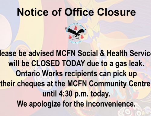 MCFN Social and Health Services Closed