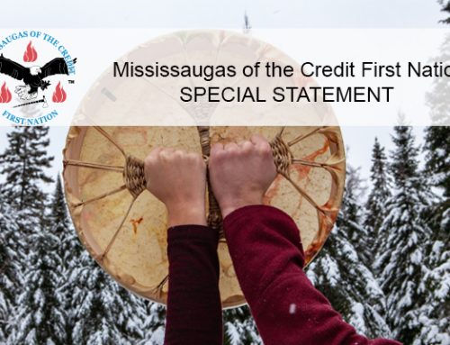 MCFN Supports the Right of First Nations to Assert Jurisdiction Across Their Lands