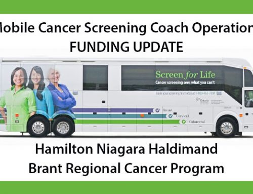 Mobile Cancer Screening Coach Operations Update