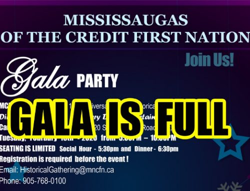 2020 MCFN Historical Gathering – GALA IS FULL