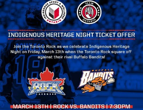 Toronto Rock Indigenous Heritage Night