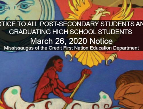 MCFN Education Notice to All Post-Secondary Students and Graduating High School Students Application Deadline