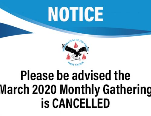 March 2020 Monthly Gathering is Cancelled