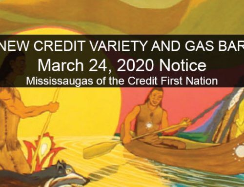 New Credit Variety and Gas Bar Limited Hours of Operation