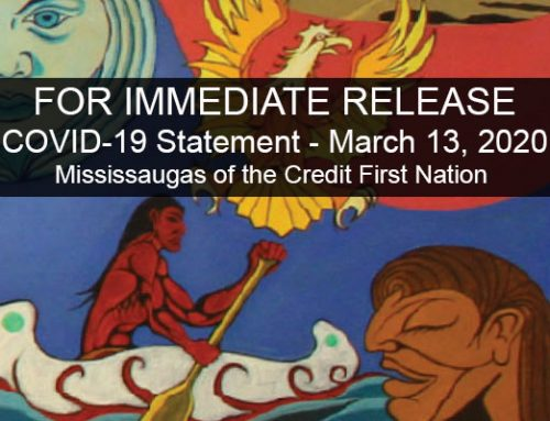 March 13, 2020 Statement from the Mississaugas of the Credit First Nation on COVID-19